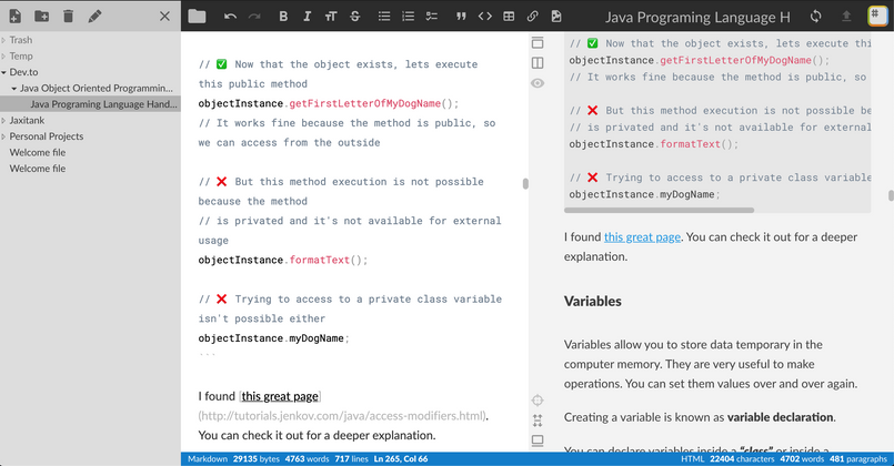 Cover image for Would you like a MarkDown side preview feature?