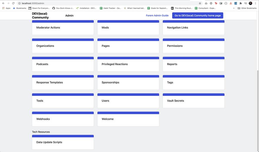 admin data update scripts