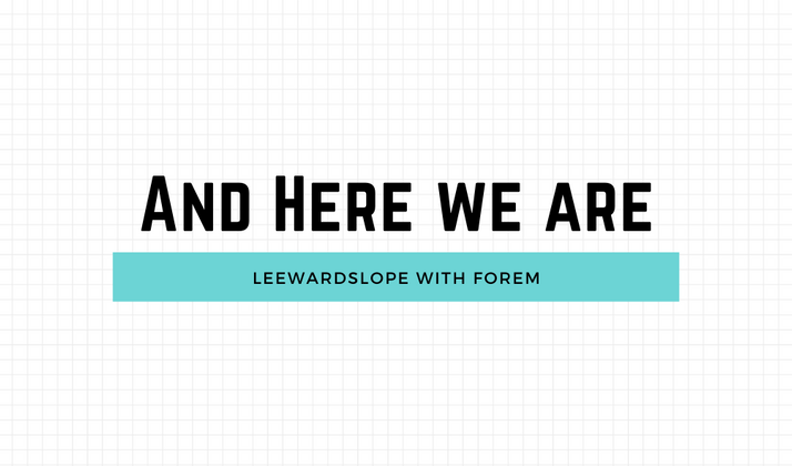 Cover image for Leewardslope is Live! Using Forem.